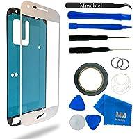 MMOBIEL Kit de Reemplazo de Pantalla Táctil para Samsung Galaxy S4 i9500 i9505 Series (Blanco) Incl Kit de Herramientas / Pinzas / Cinta adhesiva / Limpiador / Alambre / Manual