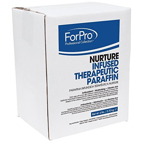 Unscented Paraffin (For Pro Nurture Infused Therapeutic Paraffin Unscented 6lbs by Nuture)