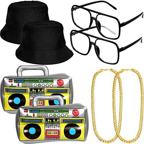Kit de Disfraces de Hip Hop de 8 Piezas