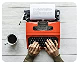 m. kern Mousepad Schreibmaschine