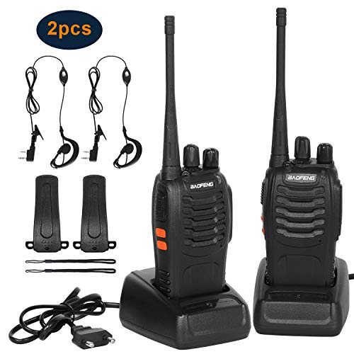 Combogame Talkies-Walkies 16 Canaux - Talkie Walkie Rechargeable 1500mAh, Radios PMR Professionnelle...