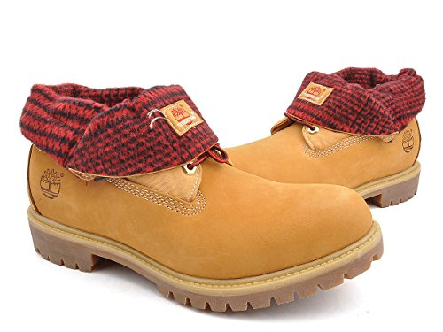 Timberland Men s Boots Red Khaki Red