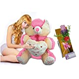 Muren Stuffed Valentine Teddy Bear-Pink ...