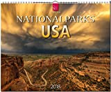 Nationalparks USA: Original Stürtz-Kalender 2018 - Großformat-Kalender 60 x 48 cm -
