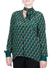 Kocca Camicia in Viscosa Todos Colore Fantasia su Verde Collezione   Autunno-Inverno 2018  de4ae1bd6bf