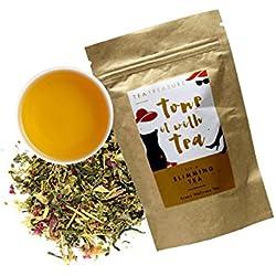 Tea Treasure Slimming Loose Leaf Tea (Slim tea, Natural Weight Loss) 50 Gms