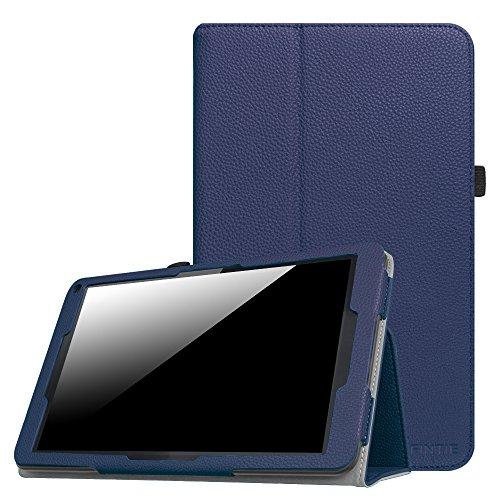 Fintie Hülle für XIDO X111 - Premium Folio Kunstleder Schutzhülle Tasche mit Standfunktion für XIDO X111 25,4 cm (10 Zoll) Tablet-PC (No Flash Version), Marineblau