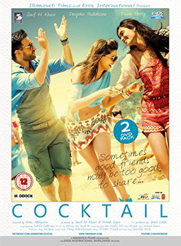 Cocktail - DVD - All Regions - Saif Ali Khan - Deepika Padukone - Bollywood [UK Import] (Cocktail Film)