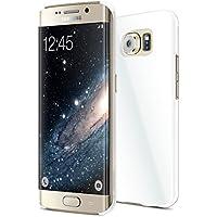 vau SlimShell Case - glossy white - Hülle, Tasche für Samsung Galaxy S6 Edge