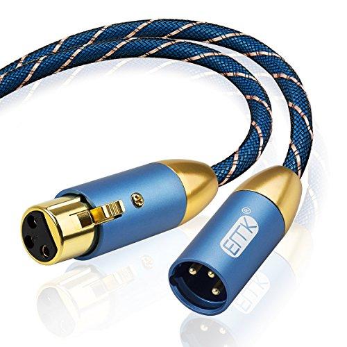 EMK câble micro XLR mâle vers XLR...