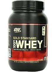 Optimum - Nutrition Protéine - 100% Whey - Gold Standard - Double Chocolat - 908 g