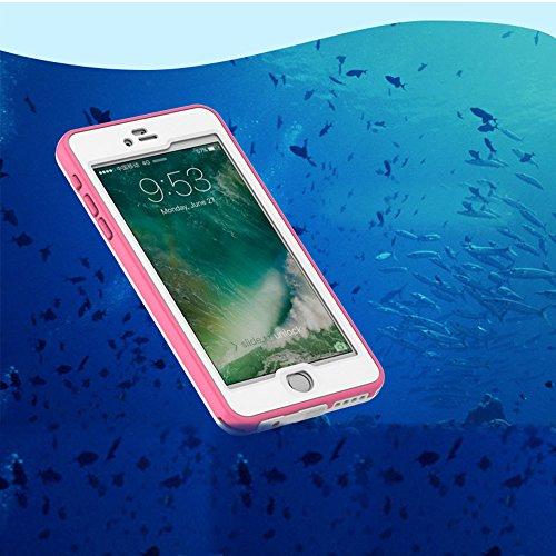 """Coque iPhone 6s Etanche Imperméable Protection, Sunroyal iPhone 6/6S 4.7"""" Etui Housse Waterproof Antipoussière Anti-Neige Antichoc Sport Pare-chocs Case Cover Portable 360 Scellé de Protecteur Robuste Pattern 03"""