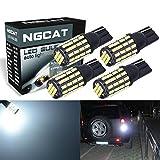NATGIC 4pcs 192 T10 168 2825 Ersatzlampe für Glühlampen 800LM 6000K 3014 54-EX Chipsätze für Auto vorne hinten seitliche Begrenzungslicht-Glühlampen Kennzeichen Standlicht 12V-24V