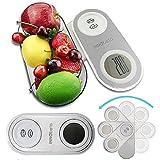 K-CAL Kleine Digitale Küchenwaage Digitalwaage Compact Professionelle Electronische Waage