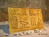 Ägyptische Dekorfliese Nr. 1 Terrarium Rückwand Terrarien, 10 Stck.