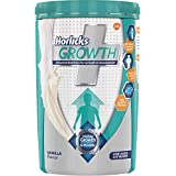 Horlicks Growth Plus – Health and Nutrition Drink, 400 g Pet Jar (Vanilla Flavor)