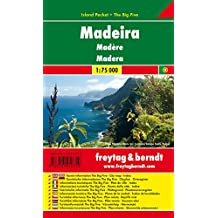 Madeira, Autokarte 1:75.000, Island Pocket + The Big Five, freytag & berndt Auto + Freizeitkarten