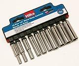 Hilka 03021002 1/4-inch Pro Craft Deep Metric Socket Set