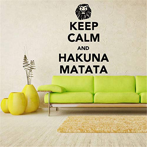 Pegatinas De Pared Star Wars Keep Calm And Hakuna Matata For Bedroom Living Room