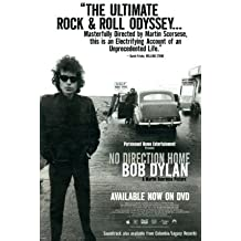 Lámina maestra 'No Direction Home: Bob Dylan', Tamaño: 43 x 28 cm