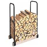 Holzregal LEONDING Brennstoffregal Regal Holz Brennholz Brennstoff Feuerholzregal