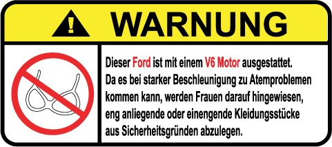 ford-v6-motor-german-lustig-warnung-aufkleber-decal-sticker