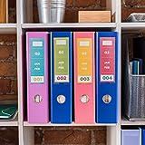 Brother CZ-1001 Violett auf Weiß CZ Etiketten-Band (Violett auf Weiß, CZ, Tintenstrahldrucker, Brother, VC-500W, Box)