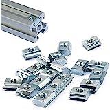 3DINNOVATIONS 2020 Series Sliding T Nuts Metric M3 Thread Slide in Hammer Head T-Nut for Standard 6mm T-Slot Aluminum Extrusi