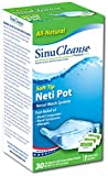 Sinucleanse Neti-Pot System KIT AS SEEN ON TV, Free 30 salt packets