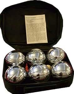 6 Boule Kugeln Boccia Boulekugeln Petanque Bouleset