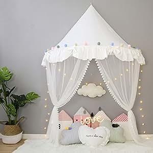 betthimmel babybett baldachin kinderzimmer moskitonetz bett baby zelt spielen zimmerdekoration. Black Bedroom Furniture Sets. Home Design Ideas