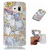 Cover Samsung Galaxy S6 silicone marmo TPU super sottile morbido Gel Protettiva Conchiglia Custodia di JOYTAG
