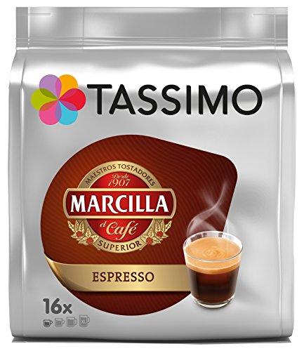 Foto de Tassimo Marcilla, Cápsulas de café (Espresso) - 5 de 16 cápsulas (Total 80 cápsulas)
