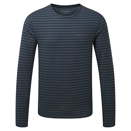 Craghoppers Herren Bentley Long Sleeve Shirt Dark Navy
