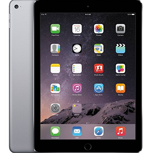 "Apple iPad Air 2 Space Grey 32GB (WiFi, 9.7"" Retina Display, MNV22FD/A)"