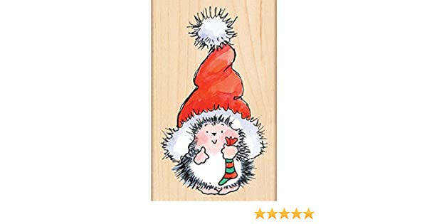 Penny Black 4283K Santas Hat Wood Mounted Rubber Stamp