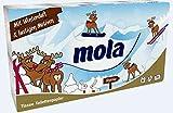 Mola Wintertoilettenpapier Gold 3- lagig 1 x 56 Rollen