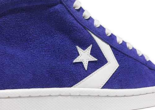 Converse Pro Leather 76 Mid Vintage Suede purple