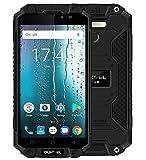 OUKITEL K10000 MAX - 5.5 pollici FHD IP68 impermeabile / antiurto / antifurto con batteria 10000mAh, Android 7.0 Octa Core 1.5GHz, 3GB RAM + 32GB ROM- Nero