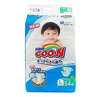 GOO.N (Goon) Japanese Diapers Nappies Size - L (9-14 kg) 54 pc. // GOO.N (Goon) Японские подгузники Size - L (9-14 kg) 54 pc.