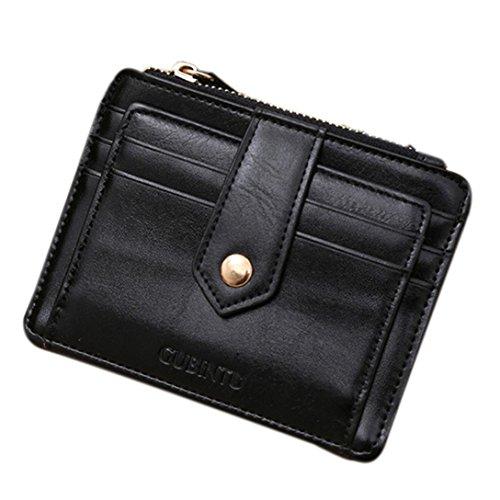 DDLBiz® Porta Carte di Credito, Unisex Mini Zipper carta di