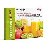 Ricette pratiche per estrattore di succo vivo-essenziali. Succhi, latti vegetali, condimenti, zuppe e recupero delle fibre vegetali. Ediz. multilingue
