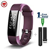 CHEREEKI Fitness Tracker Cardiofrequenzimetro Activity Tracker Bracciale Fitness Braccialetto Sport Fitness Watch Pedometro Smartwatch Sonno Monitoraggio/ Monitoraggio Calorie/ Notifiche Chiamate/ SMS/ WhatsApp/ Facebook per iOS iPhone e Android Smartphone …