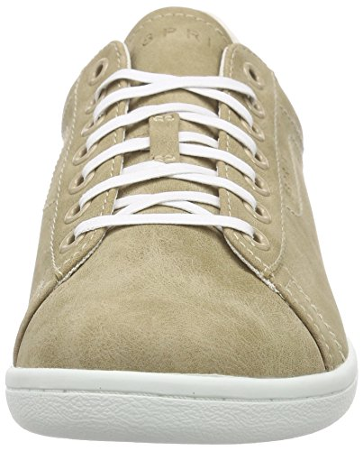 ESPRIT Mary Lace Up Damen Sneakers Beige (240 taupe)