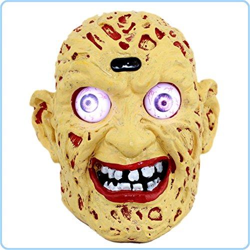 Garyesh Halloween-Party-Maske mit LED-Licht (Dämon Kostüm Diy)