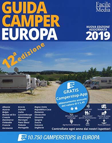 Guida camper europa 2019. con app
