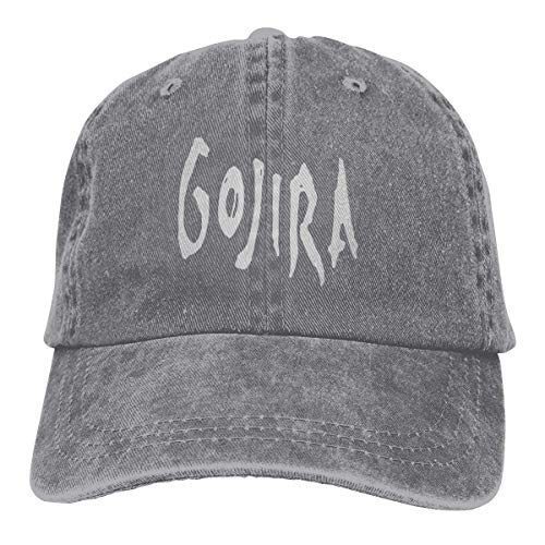 dopo colore n brillante migliori offerte su Gojira cap Baseball Dad Hat Adjustable Size Running Workouts And Outdoor  Activities Gray