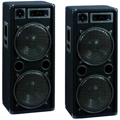 Omnitronic Sonido Profesional DJ Pareja de Altavoces 30 cm (12