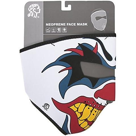 ZANheadgear Máscara de Neopreno para Moto, Quad, Esquí y Snowboard WNFM005