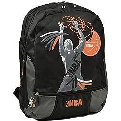 NBA - Bolsa escolar unisex Beige NoirFantaisie